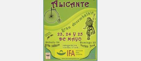 III Feria de Antigüedades Alicante. Gran desembalaje 2014
