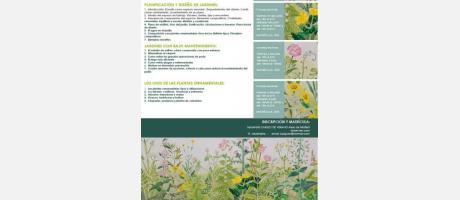 Programa Cursos Jardineria y Paisajismo verano 2014. Aielo de Malferit.