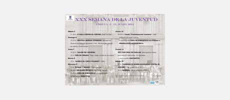 XXX SEMANA DE LA JUVENTUD  CHELVA 2014
