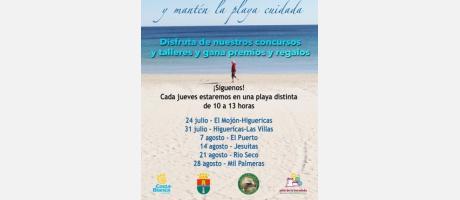 """""""Vive Pilar de la Horadada y… mantén tu playa cuidada"""""""