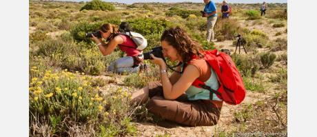 Cursos de fotografía en la naturaleza