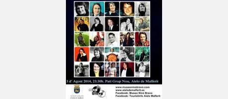 Festival de la Canción Homenaje a Nino Bravo por el 70 Aniversario de su nacimiento en Aielo de Malferit
