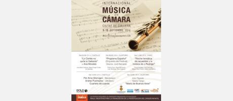 III Festival Internacional de Música de Camara Cullera 2014