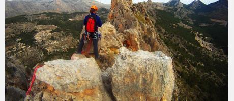 Cresta Castellets con Aitana Aventures