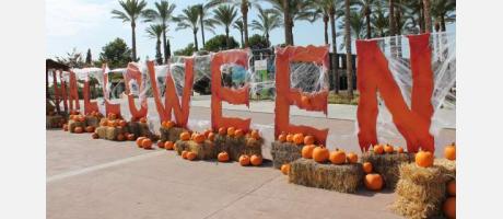 Halloween en la entrada