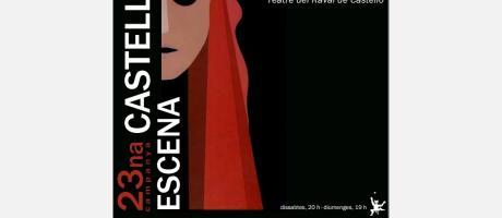 """Cartel 23ª Edición """"Castelló a Escena"""""""