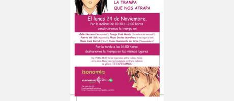 Cartel actividades Día Internacional Eliminación de la Violencia de Género
