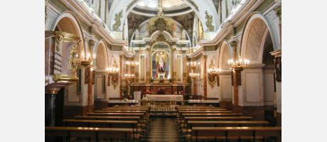 Monestir de Sant Miquel Llíria Interior