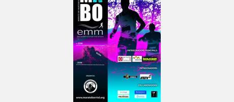 Cartel IX Maratón de Montaña de Borriol 2015