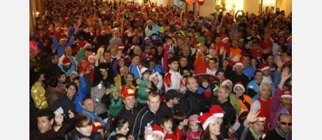 Miles de participantes