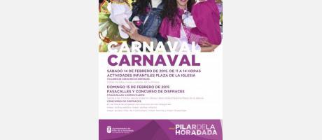 Cartel del Carnaval de Pilar de la Horadada 2015