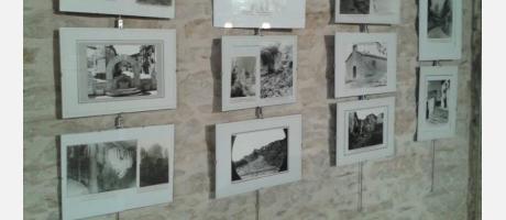Parte de la exposición de fotos antiguas