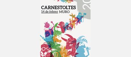 Cartel Anunciador Carnaval Muro 2015