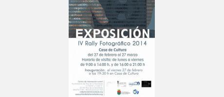 Exposición de fotografía: IV Rally fotográfico 2014