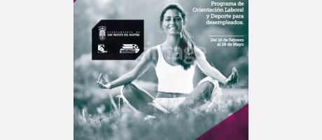 Programa de orientación laboral y deporte para desempleados