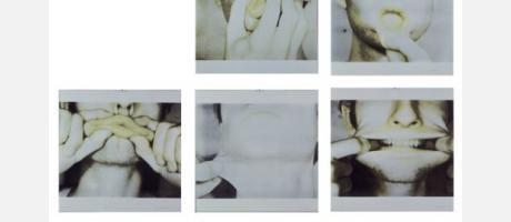 Fotografías de caras haciendo muecas