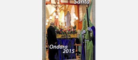 Cartel Semana Santa Ondara 2015