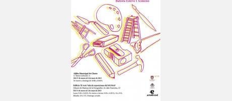 Cartel de la exposición ArteFacto