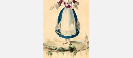 imagen de la exposión tipos y trajes populares valencianos