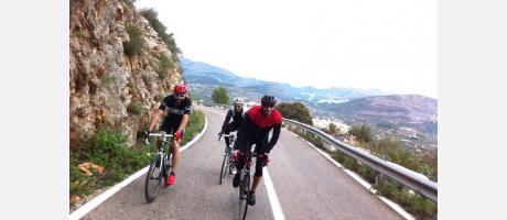 Coll de Rates en bicicleta de carretera