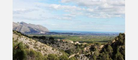 Vista desde Fontilles