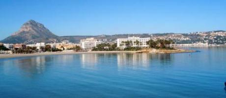 vistas de la playa del Arenal en Xàbia - Jávea