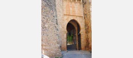 Castillo de Dénia Puerta principal