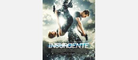 "cartel de ""La serie divergente: insurgente"""