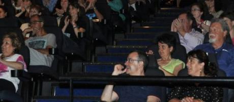 Público en una sala de cine