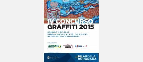 IV Concurso de Graffiti 2015 Pilar de la Horadada