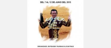 Semana Cultural Taurina de Alicante en memoria del Maestro Manzanares.