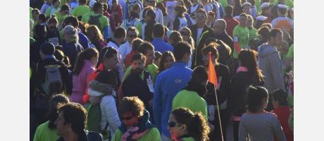 Participación en Manada 5k Bioparc 2014