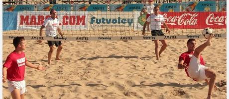 Imagen del Trofeo de Futvoley
