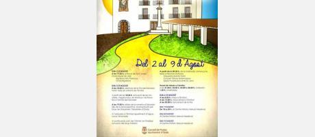 """Programa de fiestas """"El Salvador"""""""