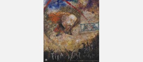 Cartel feria de agosto de Xàtiva 2015