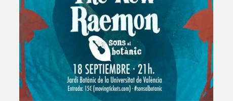 Cartel de The New Raemon en tonos azules