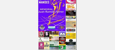 Cartel carrera 5K Manises