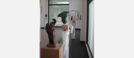 El escultor Eric Doireau muestra en la Fundación WHITE PAINTING.