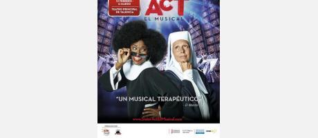 Cartel promocional de Sister Act