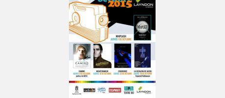 Cartel CINE  CLUB LAYNDON 2015