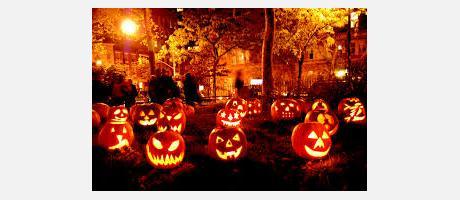 Calabazas de Halloween.