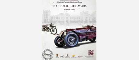 Cartel anunciador de la feria retro Valencia