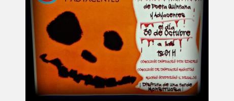 Halloween en Calle Poeta Quintana 2015