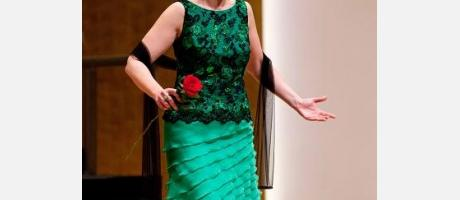 Actuación de la soprano Ascensión Padilla Blanco