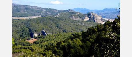 Vistas desde el Parque Natural Font Roja, Alcoy