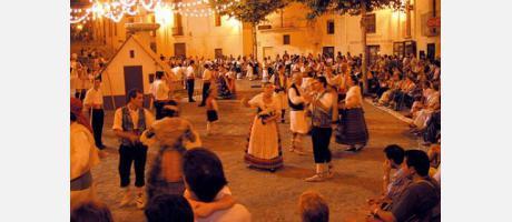 Danzas de San Agustín en Bocairent