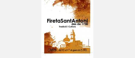 Cartel anunciador de la Fireta
