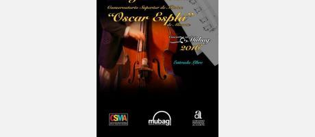 """La Diputación con el Conservatorio Superior de Música """"Óscar Esplá"""" de Alicante."""
