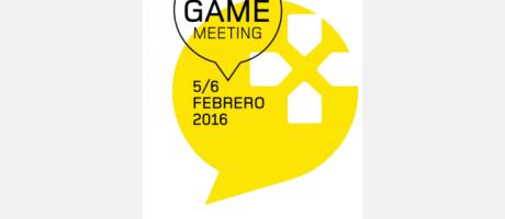 Logo de Student Game Meeting en Blanco y Amarillo