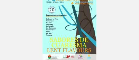 """VI Jornadas gastronómicas """"Sabores de Cuaresma"""" en Pilar de la Horadada"""